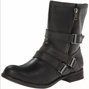 CATERPILLAR WOMENS PAULA BOOT P307122 BLACK/BLACK